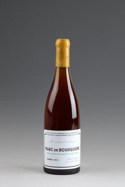 1 bouteille MARC DE LA ROMANÉE CONTI 1978...