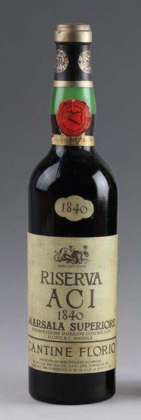 1 bouteille MARSALA RISERVA ACI - CANTINE...
