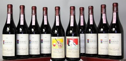 10 bouteilles Italie: BAROLO - B. MASCARELLO...