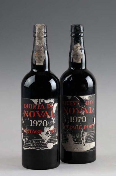 2 bouteilles PORTO QUINTA DO NOVAL VINTAGE...