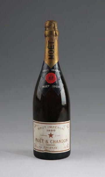 1 bouteille CHAMPAGNE MOËT & CHANDON brut...