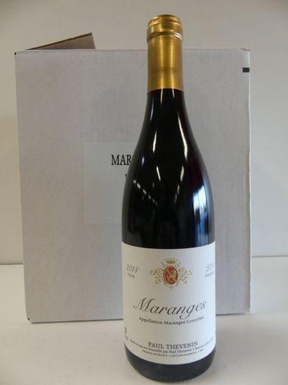 6 Bourgogne Rouge Maranges Paul Thévenin...