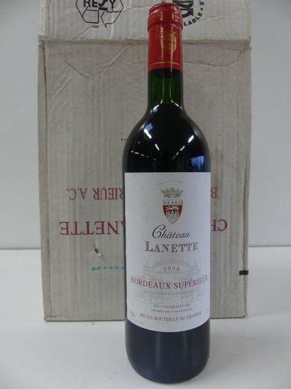 6 Château Lanette Bordeaux Supérieur 199...