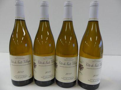 4 Côtes de Nuits Villages Blanc Paul de la...