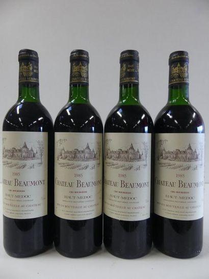 4 Château Beaumont Cru Bourgeois de Haut...