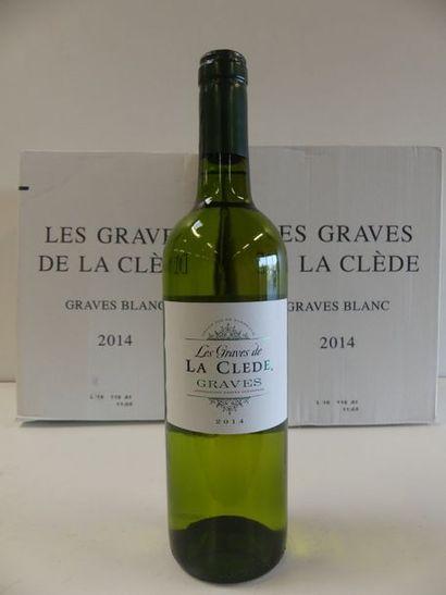 12 Graves Blanc Les Graves de la Clède 2...
