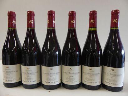 6 Bourgogne Côteaux Bourguignons André Goichot...