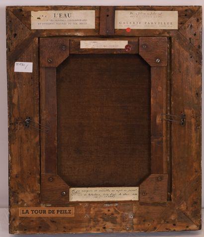 Cherubino PATA & Gustave COURBET Cherubino PATA (1827-1899) & Gustave COURBET (1819-1877)...