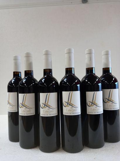 6 Btls Côtes de Provence Rouge Château de...