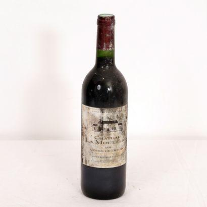 1 Btl Côtes de Duras rouge Château La Molhière...
