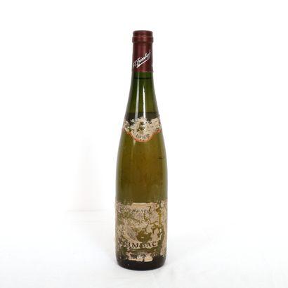 1 Bltl Alsace, Gewurztraminer Trimbach 1989...