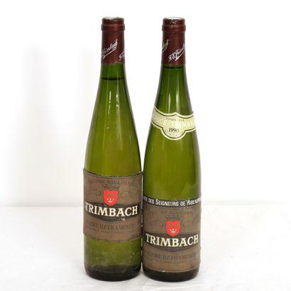 2 Btls Gewurztraminer, Trimbach Cuvée des...