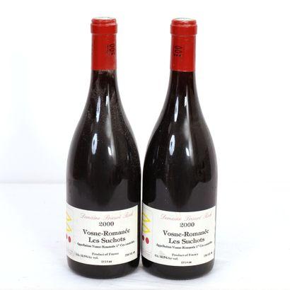 2 Btls Bourgogne, Vosne-Romanée Les Suchots...