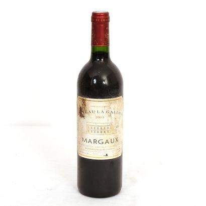 1 Btl Margaux Château la Galiane Grand Vin...