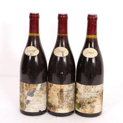 3 Btls Pommard La Chanière 1999  Niveaux...