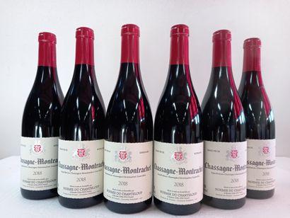 6 Btls Chassagne Montrachet Rouge Bourgogne...