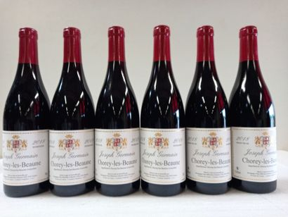6 Btls Chorey les Beaune Récolte 2018. Bourgogne....