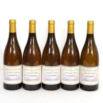 5 Btls Rhône, Condrieu Le Grand Vallon 2006,...