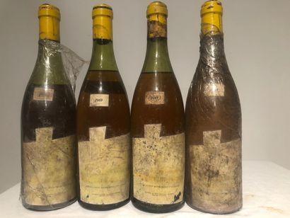 4 Btls Domaine des pierres blanches, Bourgogne...