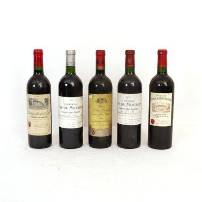 5 bouteilles de Saint-Emilion Grand Cru :...