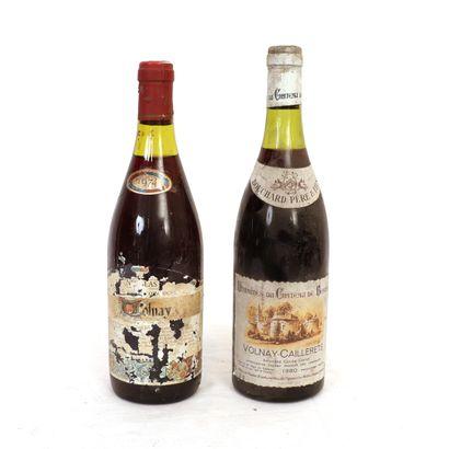 2 Btls de vins de Bourgogne :  - 1 Volnay...