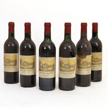 6 bouteilles Ludon Médoc