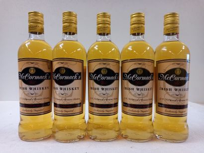5 Whisky (70cl) McCormack's Whisky D'Irland...