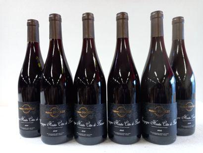 6 Btls Hautes Côtes de Beaune Bourgognes...