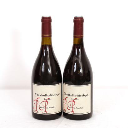 2 btls Bourgogne, Chambolle-Musigny 1er Cru...