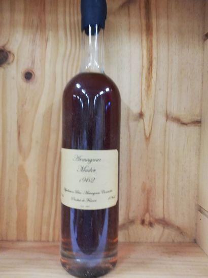 1 Flacon Bas Armagnac Mader 1962