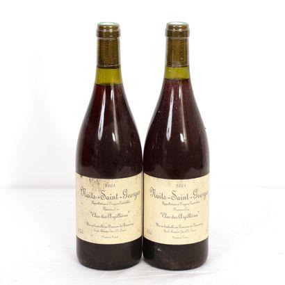2 Btls Bourgogne, Nuits-Saint-Georges 1er...