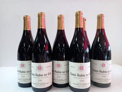 6 Btls Saint Aubin 1er Cru Bourgogne .2014....