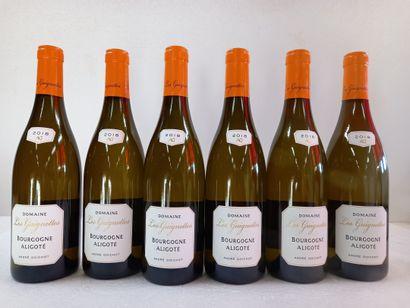 6 Btls Domaine des Guignottes 2018 Bourgogne...