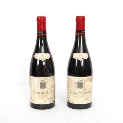 2 Btls Bourgogne, Clos de Tart Grand Cru...