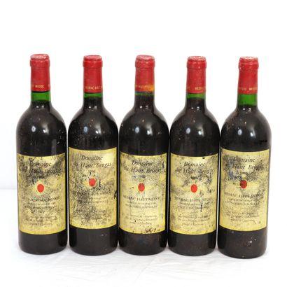 5 Btls Bordeaux, Medrac-Haut-Médoc Domaine...