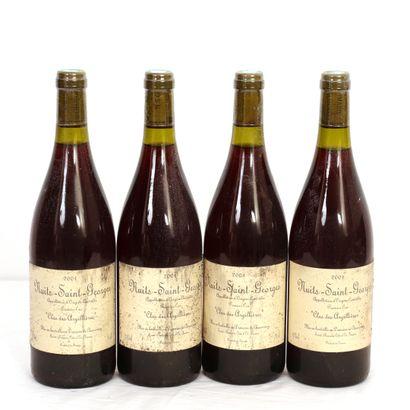 4 Btls Bourgogne, Nuits-Saint-Georges 1er...