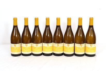 8 Btls Rhône, Condrieu Chery, 2011  Niveaux...
