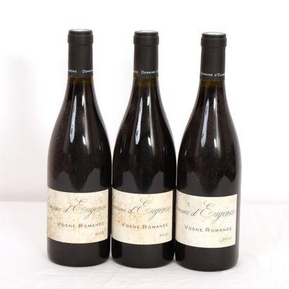 3 Btls Bourgogne, Vosnes-Romanée, Grand...