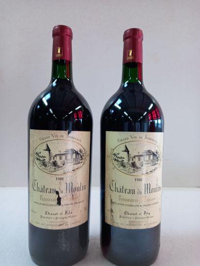 2 Magnums Puisseguin Saint Emilion 1988....
