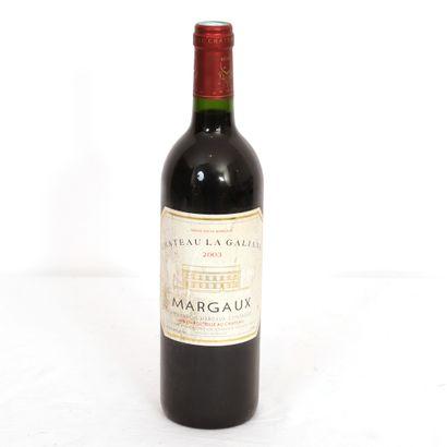 1 Btl Margaux Château La Galiane 2003  Niveau...