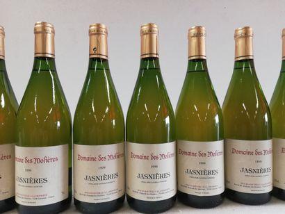 12 Btls Domaine des Molières 1999 Jasnières....