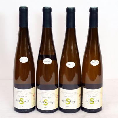 4 Btls Riesling Blanc, Schlossberg 2008,...