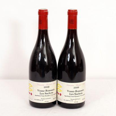 2 Btls Bourgogne, Vosne-Romanée Les Suchots,...