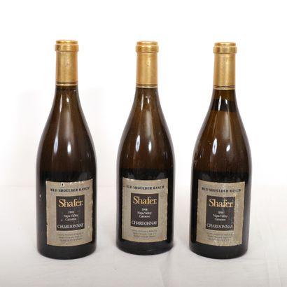 3 Blts Californie, Chardonnay Shafer Red...