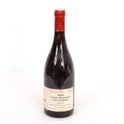 1 Btl Vosnes-Romanée Clos Goillotte 1998...