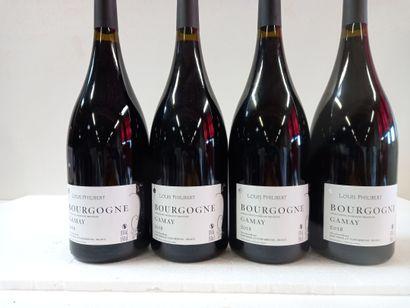 4 Magnums Bourgogne .2018. Louis Philibert....