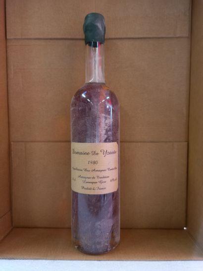 1 Flacon Bas Armagnac Domane de Yzaute ....