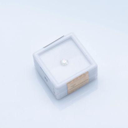 Diamant rond sous scellé de 0,51 carat, Sparkly...