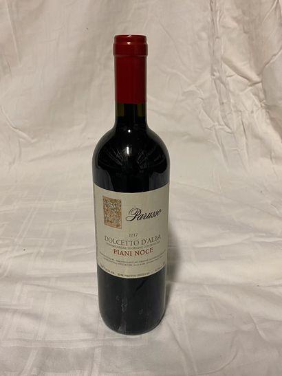 Lot de 6 bouteilles  Parusso Piani Doce  Dolcetto...