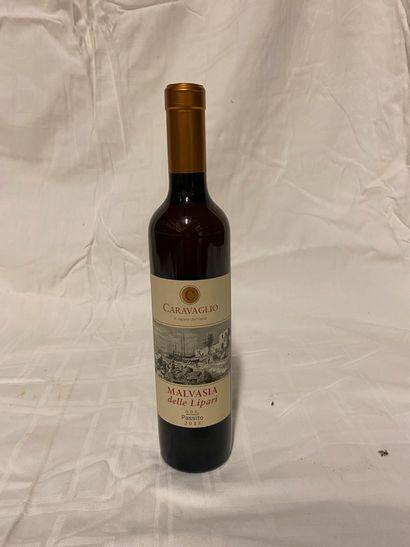 Lot de 6 bouteilles de vin doux 50 cl  Caravaglio...